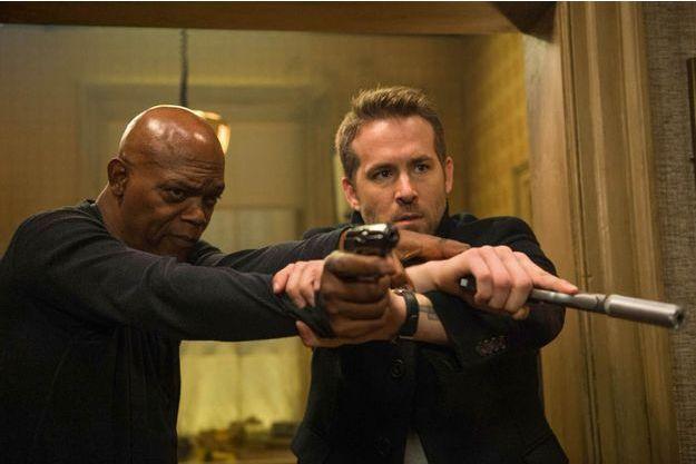 """Samuel L. Jackson et Ryan Reynolds dans """"Hitman & Bodyguard"""""""