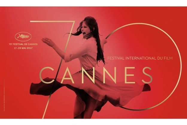 L'affiche du 70e Festival de Cannes