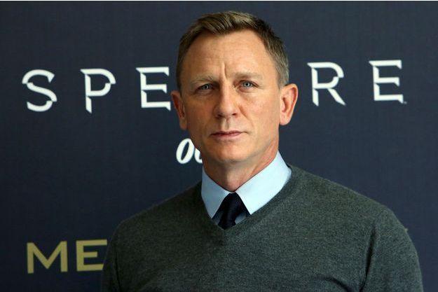 """Daniel Craig lors de la promotion de """"Spectre"""" à Mexico."""