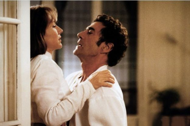 "Daniel Duval et Nathalie Baye dans ""Si je t'aime prends garde à toi""."