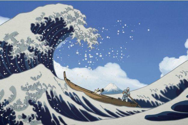 """Dans les coulisses de """"Miss Hokusai"""""""