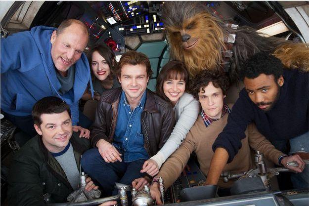 La première image du tournage du spin-off consacré à Han Solo