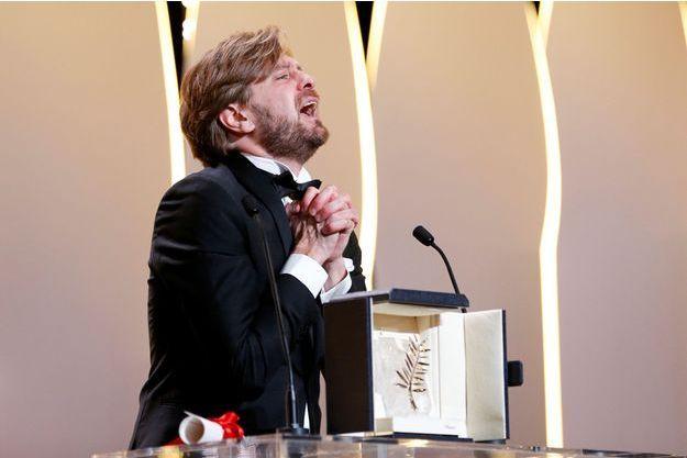 """La joie de Ruben Ostlund, Palmé d'or pour """"The Square"""""""