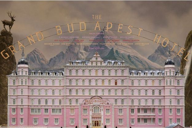 "L'affiche de ""The Grand Budapest Hotel"""