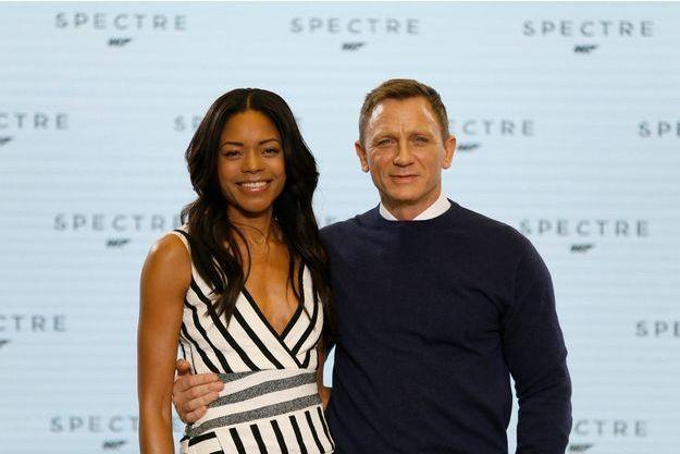 Naomie Harris et Daniel Craig lors de la promotion de «SPECTRE».