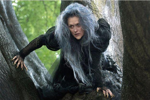 """Meryl Streep incarne une sorcière dans """"Into the Woods""""."""