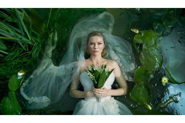"""Une première image de """"Melancolia"""" de Lars von Trier."""
