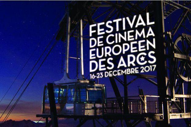 L'affiche du neuvième Festival du cinéma européen des Arcs.