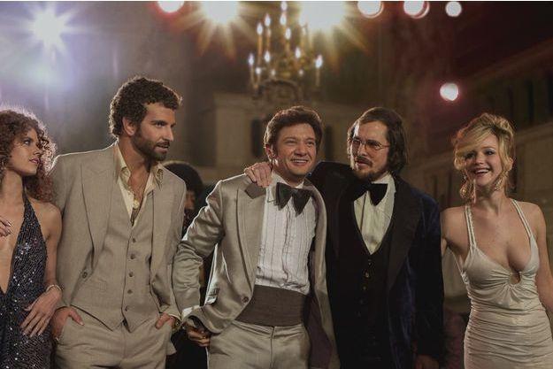"""""""American Hustle"""" de David O'Russell, l'un des grands favoris de la soirée des Golden Globes."""