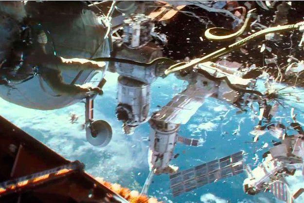 """Une image extraite de """"Gravity"""" d'Alfonso Cuaron"""