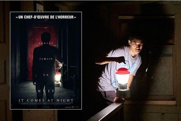 """Travis, joué par Kelvin Harrison Jr, dans le film """"It Comes At Night"""""""