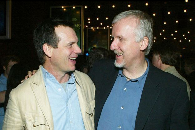 Bill Paxton et James Cameron