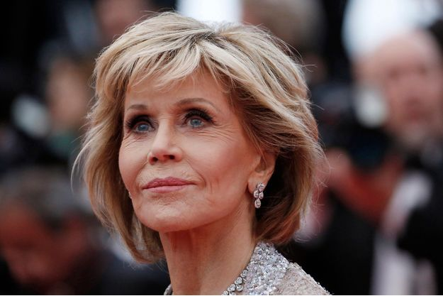Jane Fonda au Festival de Cannes 2018.