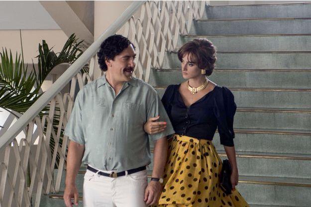 Escobar, alias Javier Bardem avec son épouse à la ville comme à l'écran, Penélope Cruz.