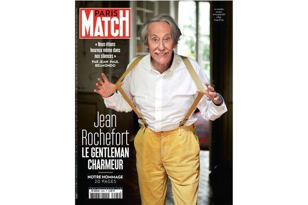 La couverture du numéro 3569 de Paris Match.