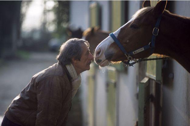 31 décembre 2000 : Jean Rochefort chez lui près de Rambouillet.