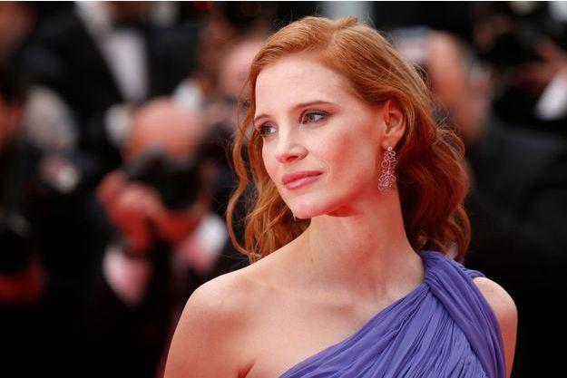Jessica Chastain à Cannes en mai dernier.