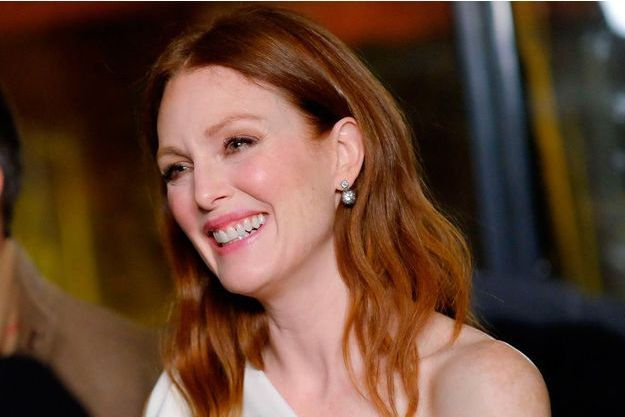 Julianne Moore à New York, en janvier 2015.