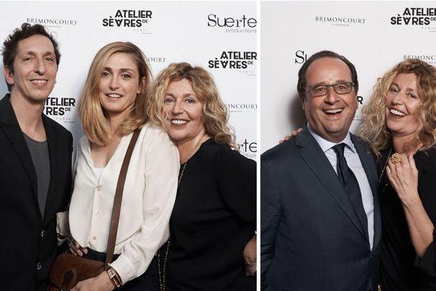 Julie Gayet, François Hollande et Stéphanie Murat