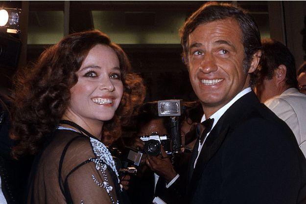 Laura Antonelli et Jean-Paul Belmondo, au temps du bonheur. Le couple s'est fréquenté entre 1972 et 1980.