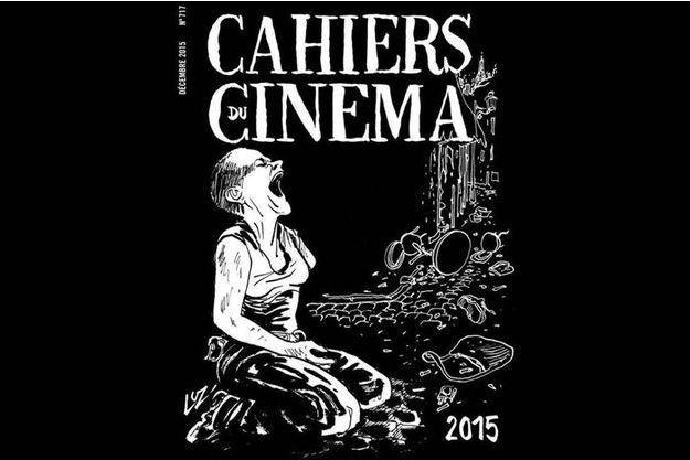 La couverture du numéro des Cahiers du cinéma de décembre