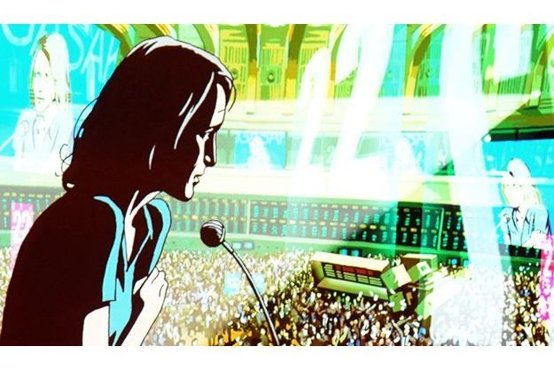 "Robin Wright animée dans ""Le Congrès"" d'Ari Folman."