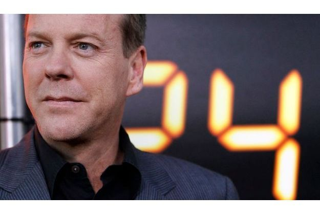 Kiefer Sutherland, l'interprète de l'agent secret Jack Bauer.