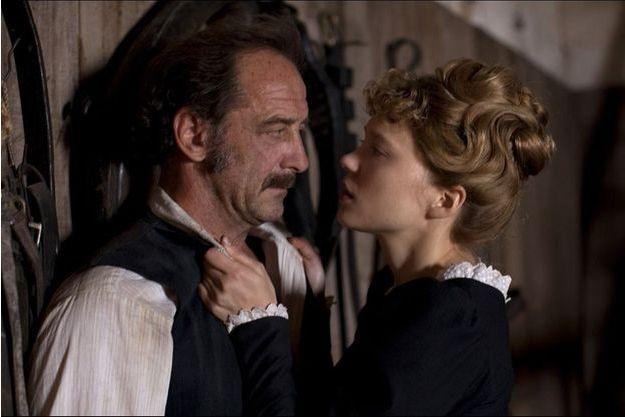 """Vincent Lindon et Léa Seydoux dans """"Le Journal d'une femme de chambre"""""""