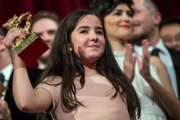 La nièce de Jafar Panahi a reçu l'Ours d'or pour son oncle.