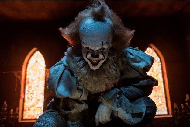 """Pennywise, le clown maléfique du film """"Ça"""", en salles le 20 septembre 2017."""