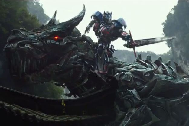 Une image tirée de «Transformers 4».