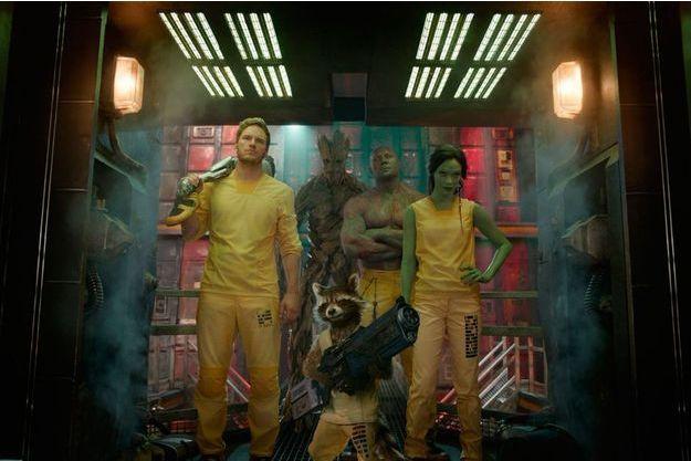 De James Gunn, avec Chris Pratt, Zoe Saldana, Dave Bautista