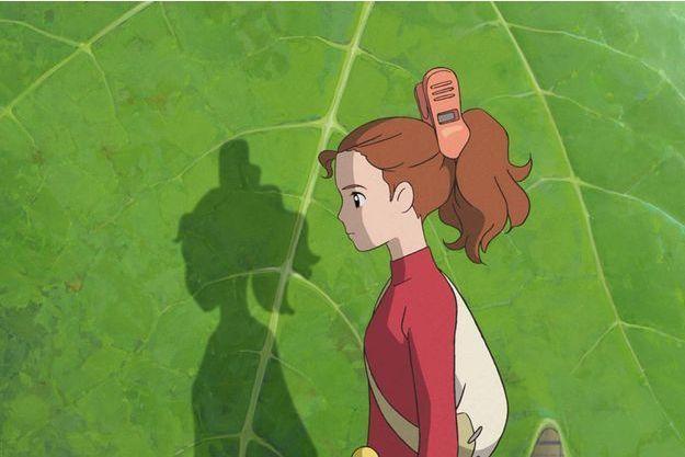 Une image extraite d'«Arrietty et le petit monde des Chapardeurs»