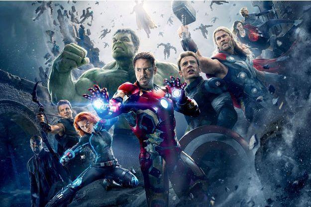 Les Avengers réunis.