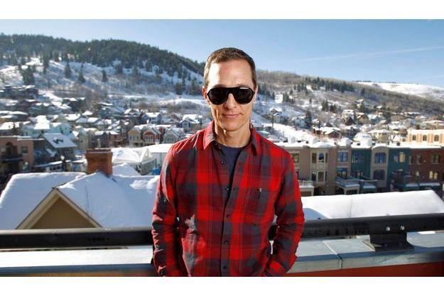 Lunettes noires pour ville blanche: Matthew McConaughey au Festival de Sundance, à Park City dans l'Utah, en janvier dernier.