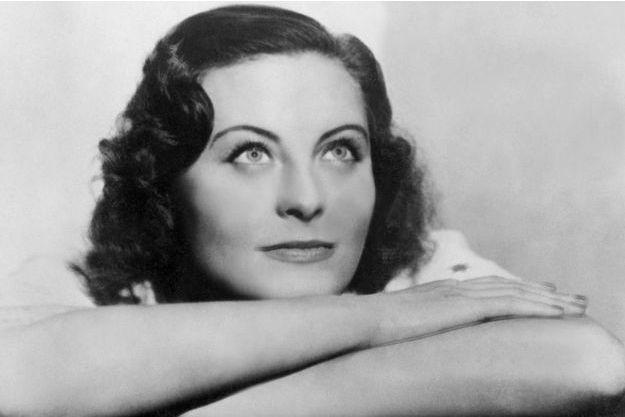 Michèle Morgan en 1938.