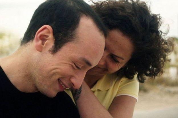 """Majd Matsoura et Rim Ben Messaoud dans """"Hedi, un vent de liberté""""."""