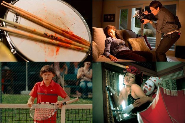 """Whiplash"", ""Night Call"", ""Terre Battue"", ""La Maison des perversités""."