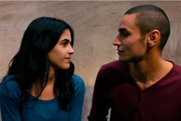 Omar et son amoureuse, joués par Adam Bakri et Leem Lubani.