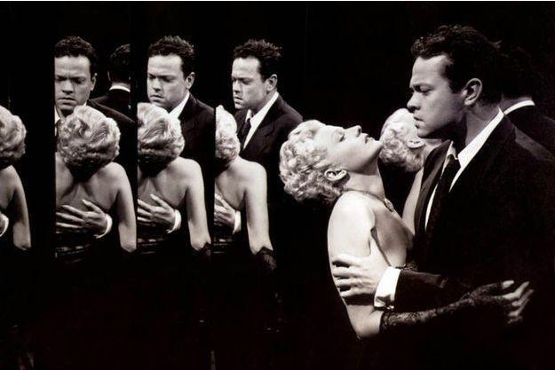 """Rita Hayworth et Orson Welles dans """"La Dame de Shanghai"""""""