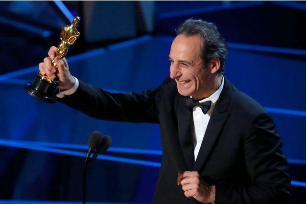 Alexandre Desplat lors des Oscars 2018