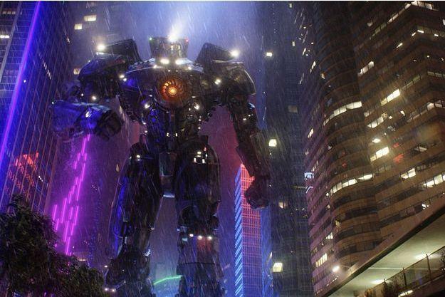 """Un gros robot dans """"Pacific Rim"""""""
