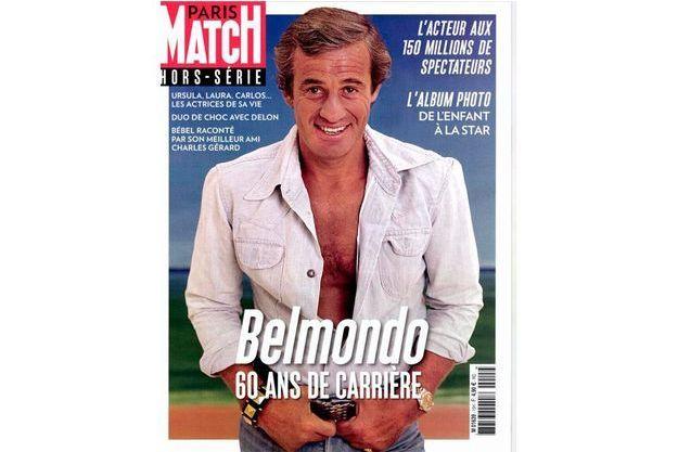 La couverture du hors-série consacrée à Jean-Paul Belmondo