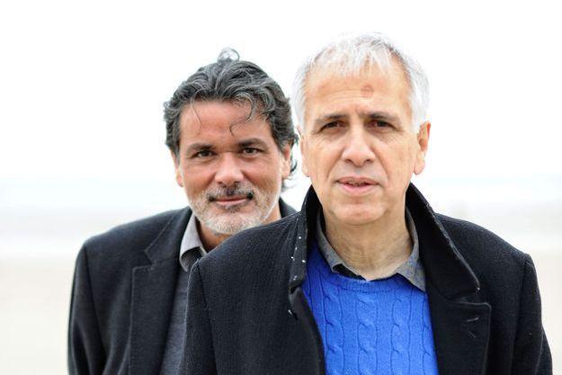Christophe Barratier et Bruno Coulais, à La Baule.