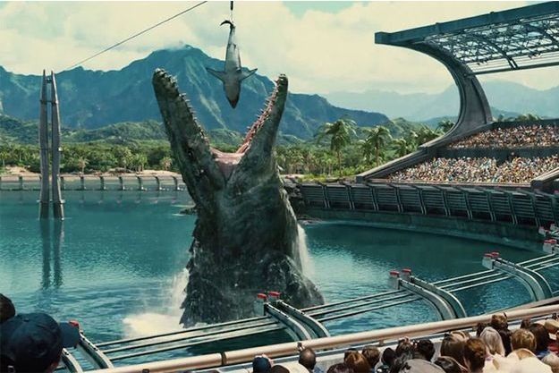 """Jurassic World"" est en tête du box-office mondial."