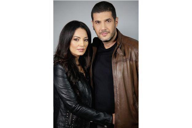 Le réalisateur et sa femme, Maryam Touzani.