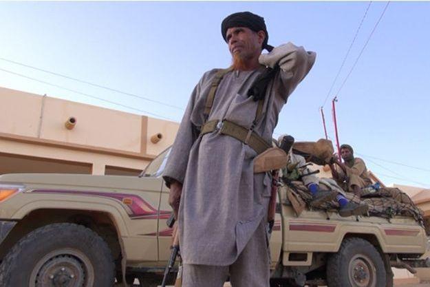 Omar Ould Hamaha, chef militaire du Mujao et lieutenant de Belmokhtar.