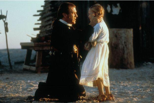 "Mel Gibson et Skye McCole Bartusiak dans ""The Patriot"""