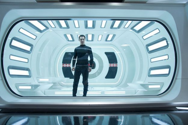 """Star Trek Into Darkness"" de J.J. Abrams avec Chris Pine, Zachary Quinto, Zoe Saldana…"