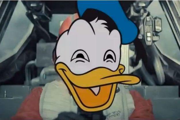 Oui, Donald s'est invité dans le teaser de Star Wars